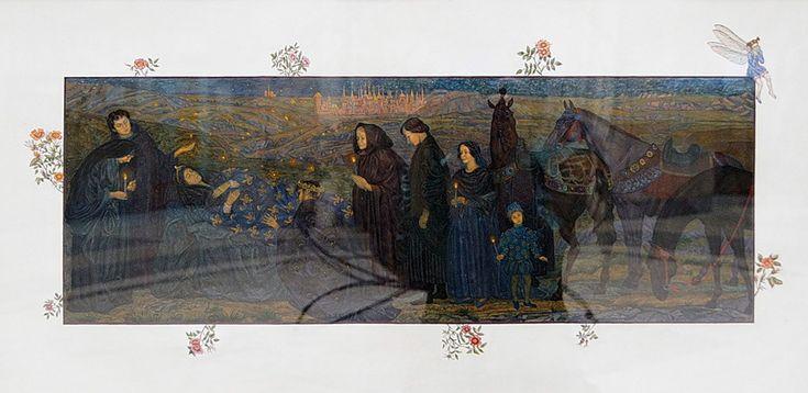 "Anna Morgunova illustration for ""Three Heiresses"", written by Sofia Prokofieva."