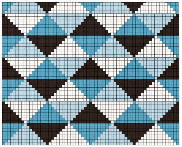 De Ligny Creations: Patroon tunisch gehaakt kussen