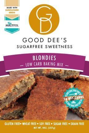 Blondies Mix- Low Carb, Gluten Free, Sugar Free and Grain Free