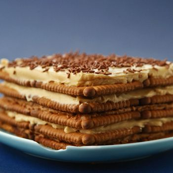 Petit beurre taart speculoos