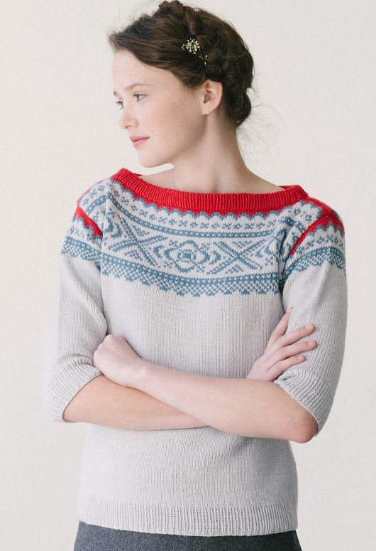 Love this sweater. Now I just need someone to make it....
