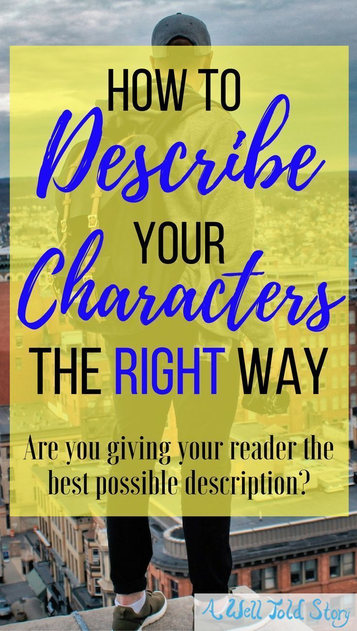 When it comes to character description, it's important to use your word count wisely. Here you'll learn more about what I do (and DON'T) describe.#writing #writingtips #characters #description #awelltoldstory