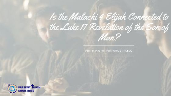 Both Malachi 4 and Luke 17 speak of a fiery judgment upon the world. God always sends a warning through a prophetic messenger before judgment strikes.