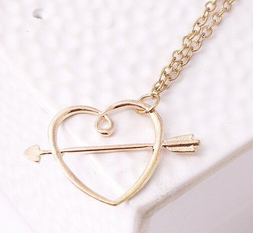 Ron Hermione Sweetheart Necklace