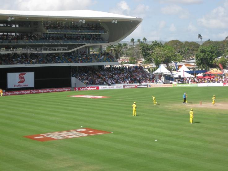 Australia v  WI in Barbados