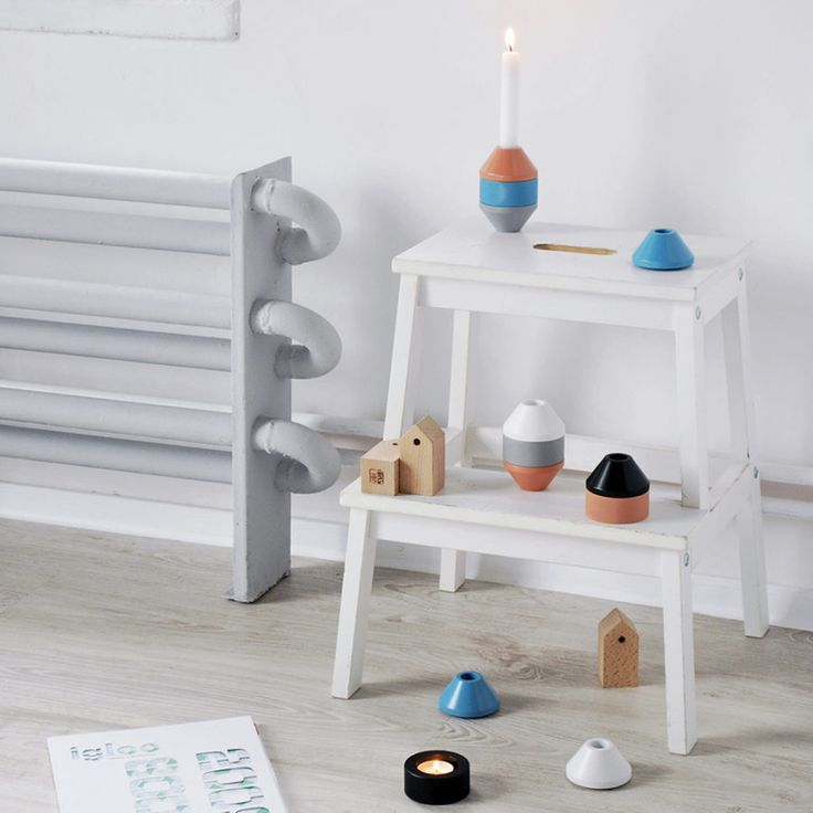Knurly Candle Holder
