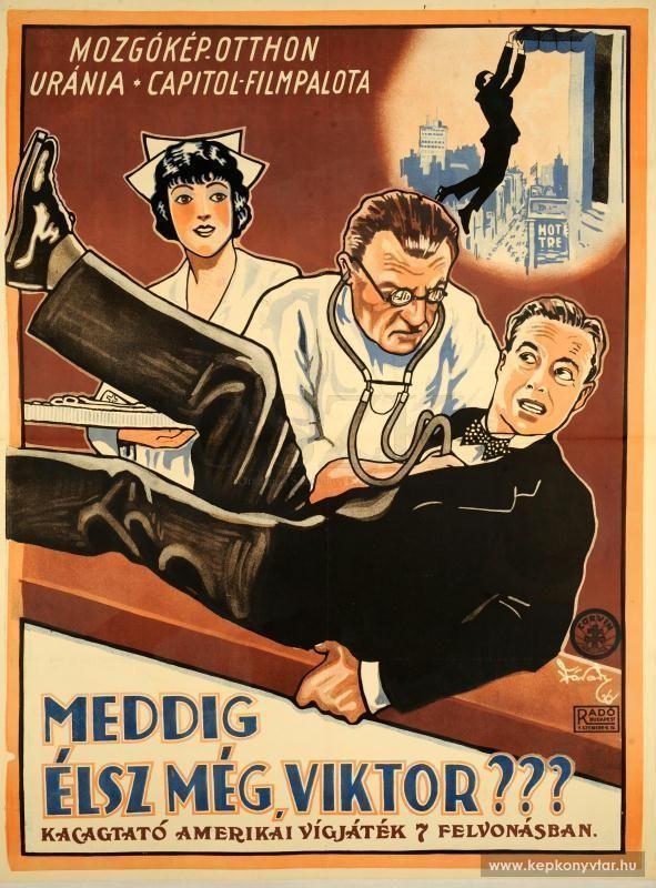 Várady Lajos - Meddig élsz még, Viktor??? (amerikai vígjáték), 1926