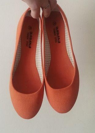 Kup mój przedmiot na #vintedpl http://www.vinted.pl/damskie-obuwie/balerinki/5546032-pomaranczowe-baleriny-balerinki