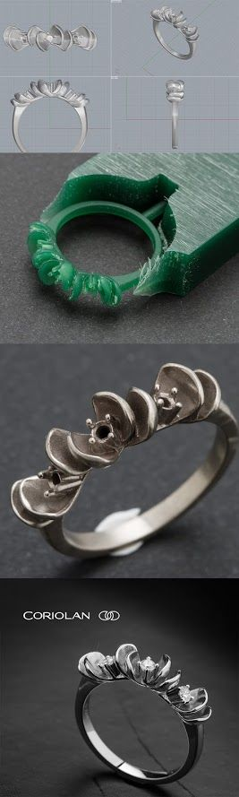 Coriolan Diamond Ring  More on www.coriolan.ro