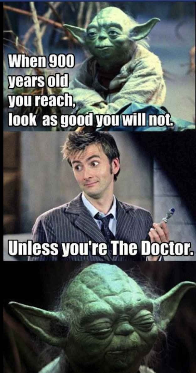 """Can it, Tennant. 