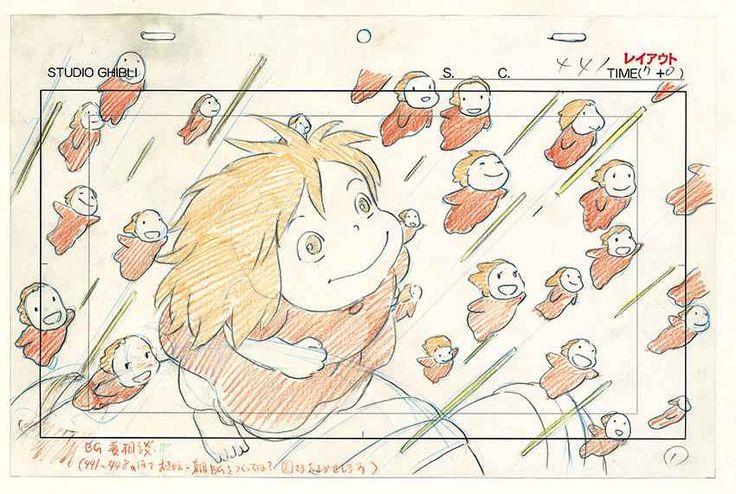 Musée des arts ludiques - exposition Ghibli