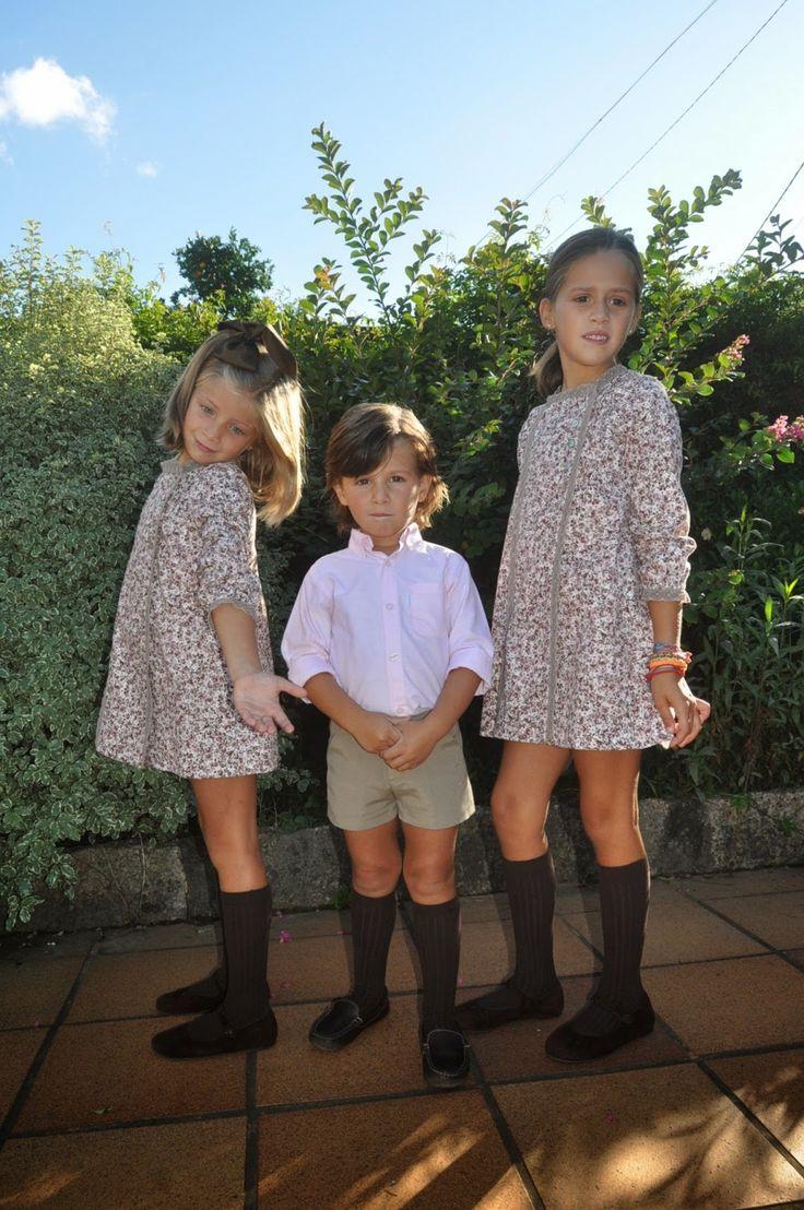Vistiendo a tres.: Como niña con zapatos nuevos dos años después...