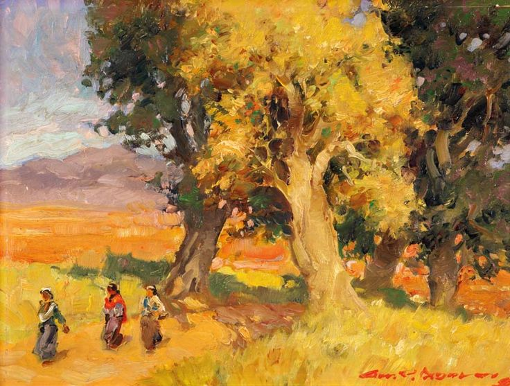 Gerard Pieter Adolfs (Semarang, 1899 – The Netherlands, 1968) - Permandangan.