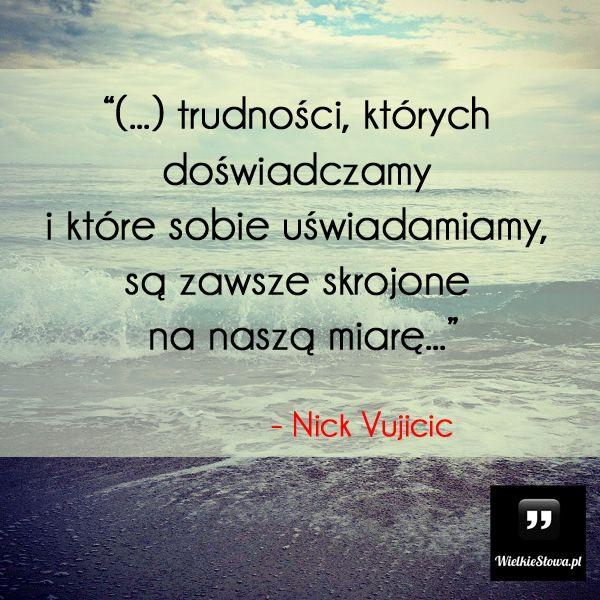 Trudności, których doświadczamy i które sobie uświadamiamy... #Vujicic-Nick,  #Motywujące-i-inspirujące