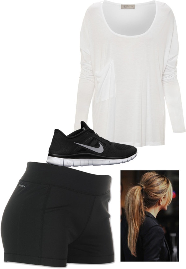 """""""Track And Field Tryouts Tomorrow... So Nervous!!!"""" by madisonhoran10 ❤ liked on Polyvore"""