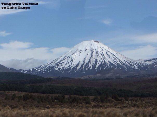 Tongariro Volcano on Lake Taupo