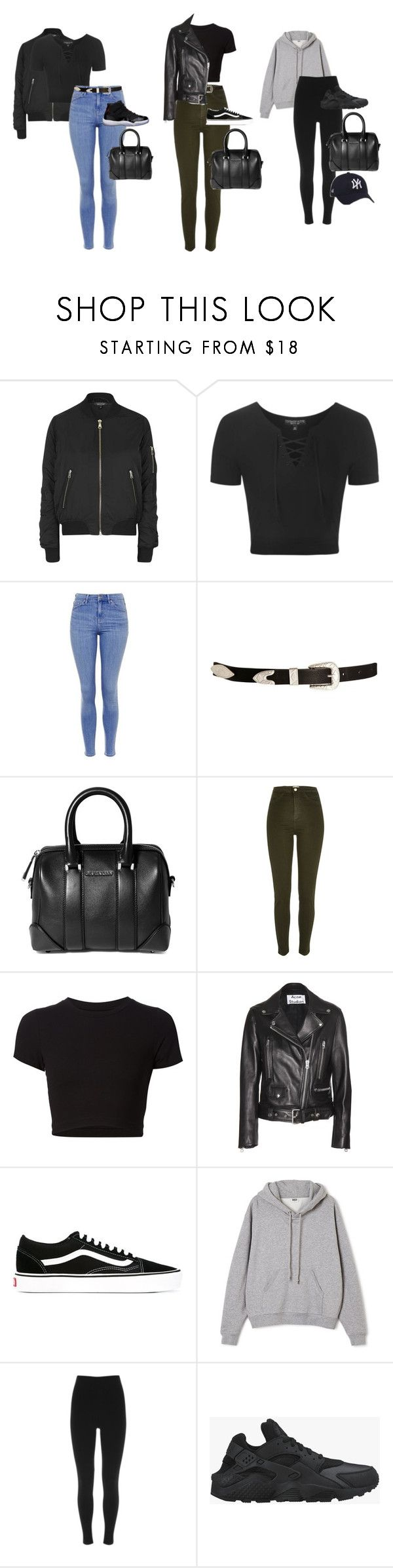 """Unbenannt #2262"" by xaieaxx ❤ liked on Polyvore featuring Topshop, Freaker, ASOS, Givenchy, River Island, Getting Back To Square One, Acne Studios, Vans, Ailin and Mint Velvet"