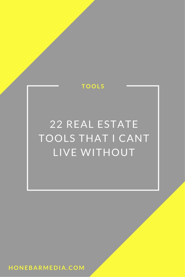 Real estate tools that are essential for real estate marketing!
