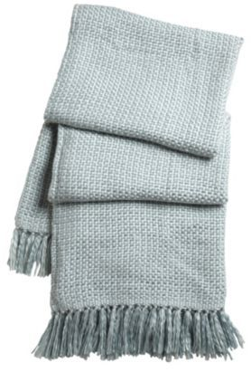 Cuddle up with this soft knitted throw with beautiful tasseled edging #Throw #CityFields #mycosyhome