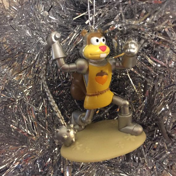Sandy from SpongeBob SquarePants Nickelodeon by BoomBashCrafts