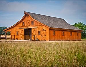 Beautiful Traditional Wood Barns....one of these will be on our property!