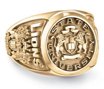 #Jostens College class ring design: Curriculum II Signet Top http://www.jostens.com/rings/class_rings_lp_college.html