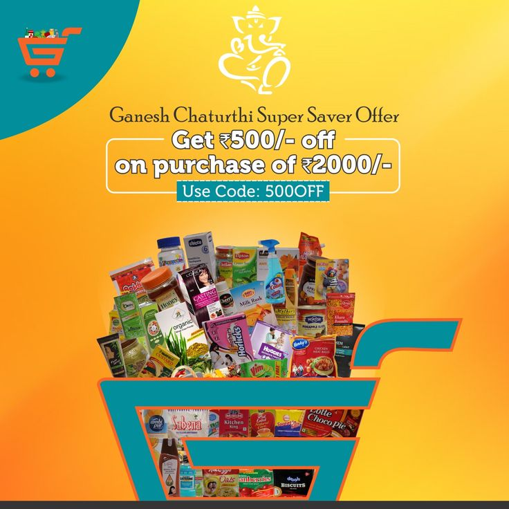 Special Ganesh Chathurti offer only at Gharkart.com Purchase 2000/- or above and get an exclusive discount of 500/- A wide range brands now available at Gharkart. To know more about offers Visit: Gharkart.com Today! #Gharkart #Onlineshopping #Groceries #Fruits #Vegetables #FreeDelivery #FastDelivery #HomeDelivery