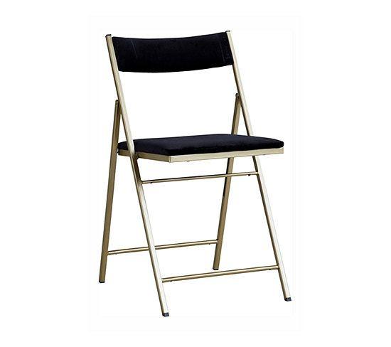 Chaise Pliante Velouta Noir Chaise But Chaise Pliante Chaise Chaise En Fer