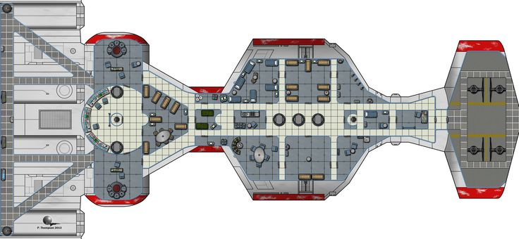 CR90 Corvette (Deck Plan)