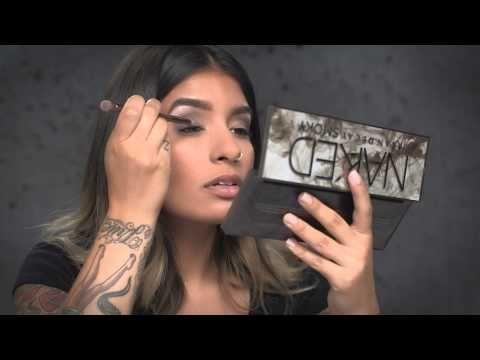 Classic Smokey Eye with Urban Decay Naked Smoky Palette | Ulta Beauty - YouTube