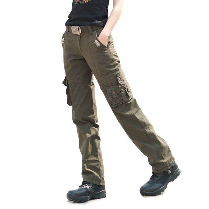 Free Knight Women's Breathable Casual Straight Leg Pants Cargo Tactical Trousers at Amazon Women's Clothing store: