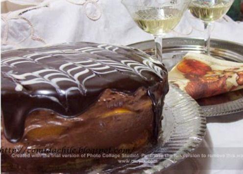 .COCINA CHILENA: TORTA MOUSE DE CHOCOLATE