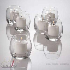 Set of 72 Petite Hurricane Votive Candle Holders Bulk   eBay