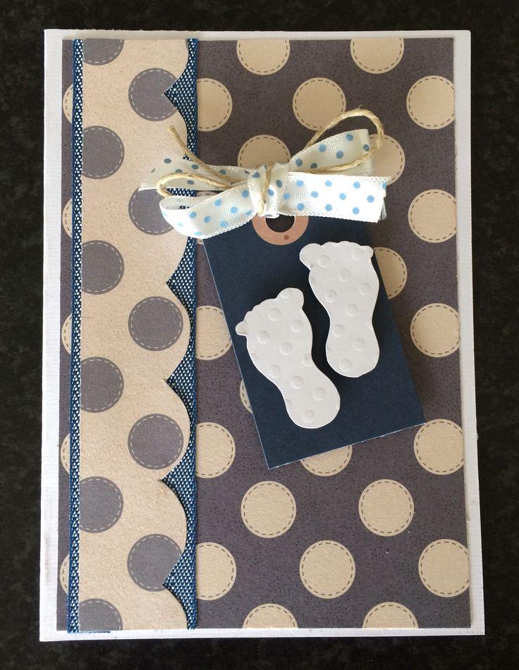 Baby card, It's a boy, välkommen till världen, grattiskort, babykort.