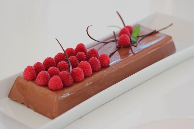Hjemmelaget sjokoladepudding, skikkelig pudding, ikke bare tykk krem...