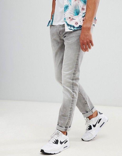 e1f92ca7e2f G-Star 3301 straight tapered jeans light aged | asos men | Tapered ...