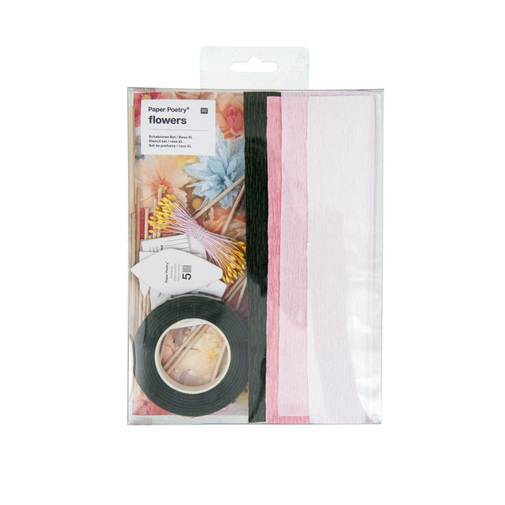 Make your own beautiful crepe paper flowers with this unique Cherry blossoms craft kit, its the perfect introduction to paper crafts.