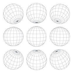 Stock Image Technology Earth Grid Earth Globe Globe Tattoos