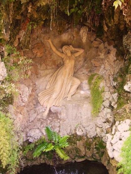 I love this relief in a wonderful hedge maze- Parque del Laberinto de Horta in Barcelona