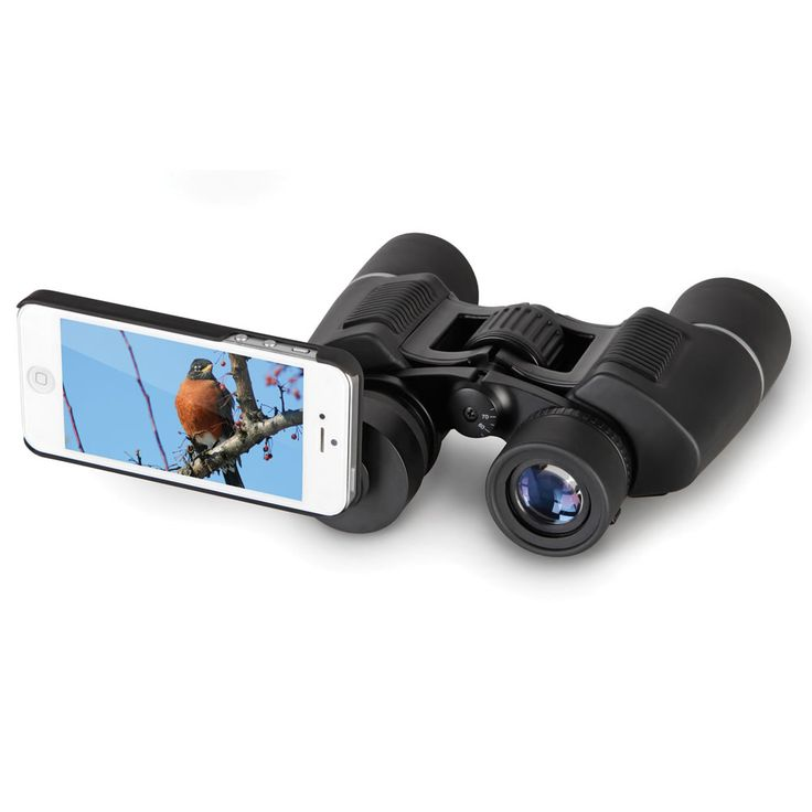 The iPhone Binoculars - Hammacher Schlemmer