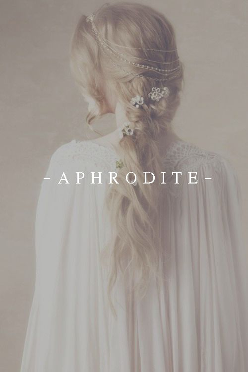 Aphrodite is known to be physically attractive, and everyone seemed to know who she was.