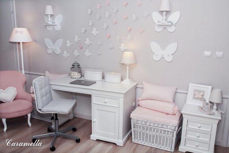 Trójwymiarowe motyle na ścianę - Dekoracje - Do pokoju - Caramella