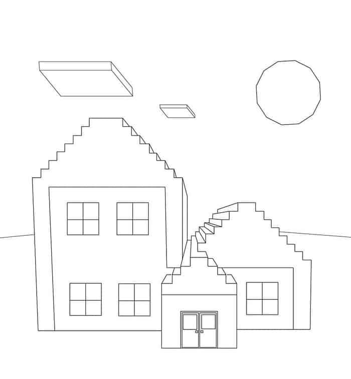 Minecraft House Coloring Pages Minecraft Coloring Pages Lego Coloring Pages Free Printable Coloring Pages