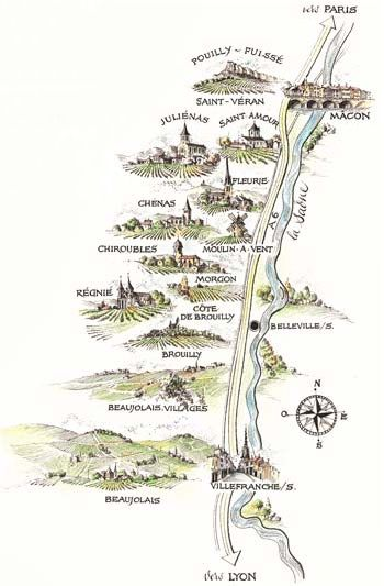 A Guide to the 10 Crus of Beaujolais