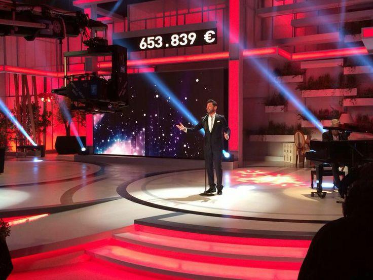 Miguel Poveda en #Telemaratón solidario por las #enfermedadesraras