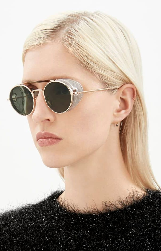 e5c6c286a The crown of the Thom Browne eyewear collection, the TB-001 sunglasses are  already