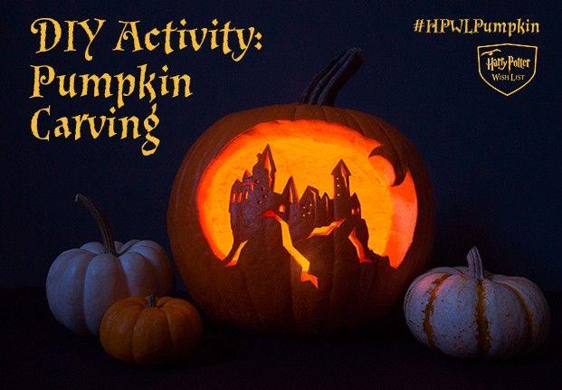 Diy harry potter pumpkin carving for halloween