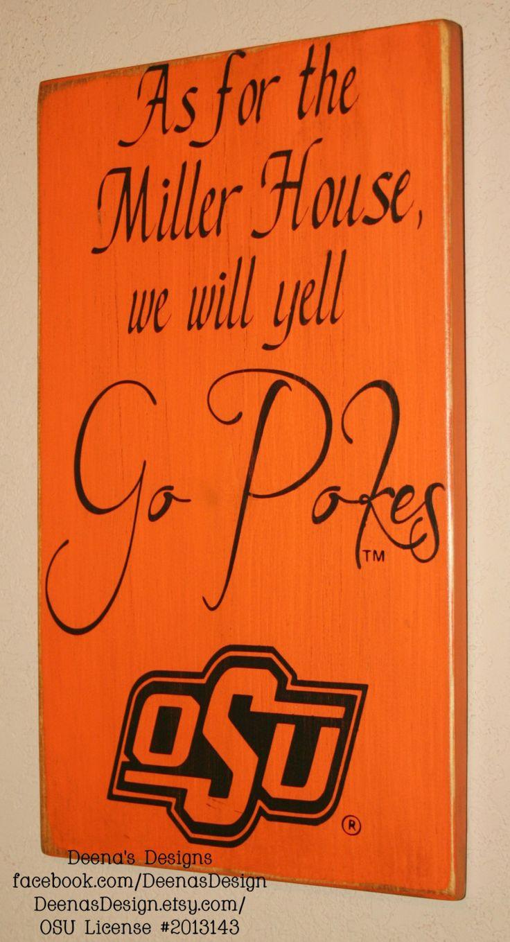 Oklahoma+State+University+Wall+Art+OSU+Cowboys+by+DeenasDesign,+$41.00