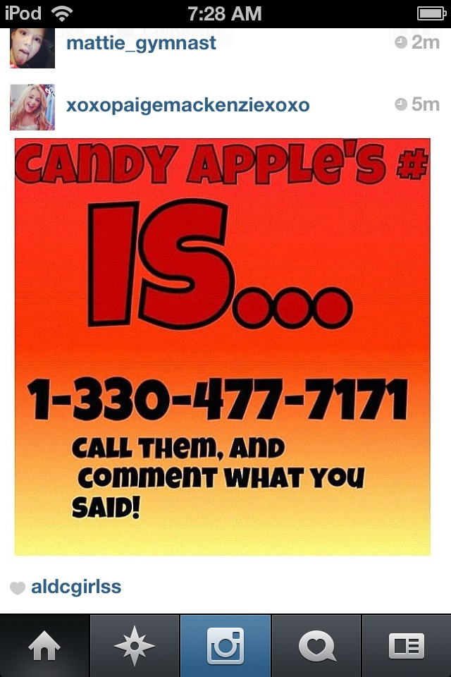 Candy apples phone number   Prank calls, Dance moms, Prank ...