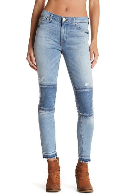 Image of HUDSON Jeans Nico Ankle Skinny Jean